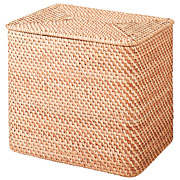 Stackable Rattan Laundry Bask