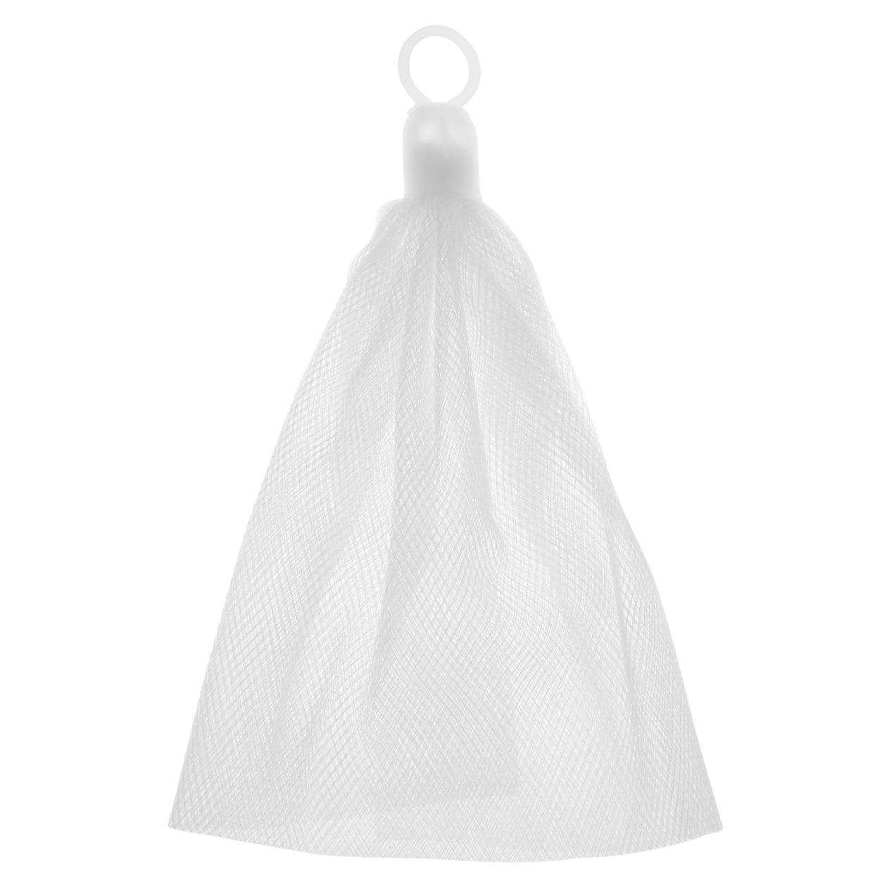 泡澡用品 洁面用起泡网  使用厨房用品的素材,细小网状能简单造出幼滑