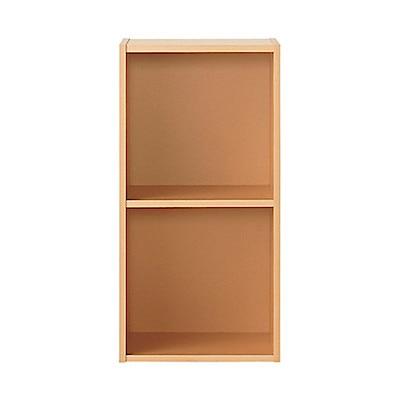 パルプボードボックス・タテヨコA4サイズ・2段・ベージュ (2段)37.5×29×73cm