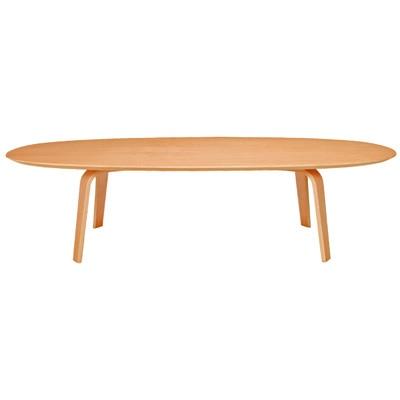 座テーブル・積層合板/タモ材・幅140cm 幅140×奥行79×高さ35cm