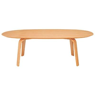 座テーブル・積層合板/タモ材・幅110cm 幅110×奥行62×高さ35cm