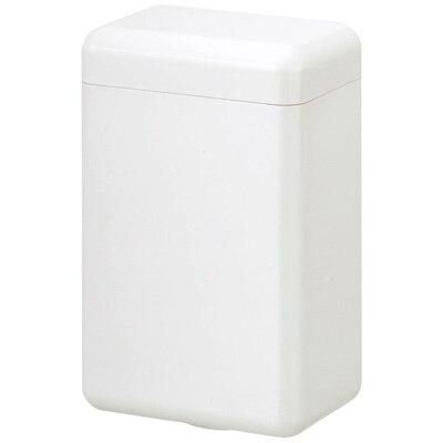 アクリル洗面・スタンド・ハーフ・フタツキ・白/約4.5×7×高さ11cm