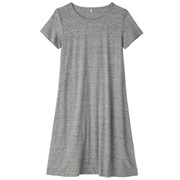 Ogc Slub S/s Dress Lght Silver Gry S