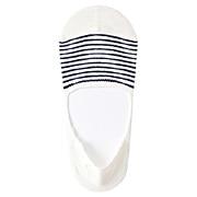 Cttn Linen Mixed Bor Ft Cover Non-slip 23-25cm O.white