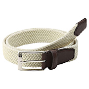 Stretch Belt Off White