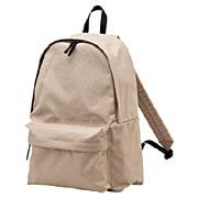Polyester Backpack Beige