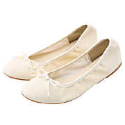 Ribbon Ballet Shoes Off White S
