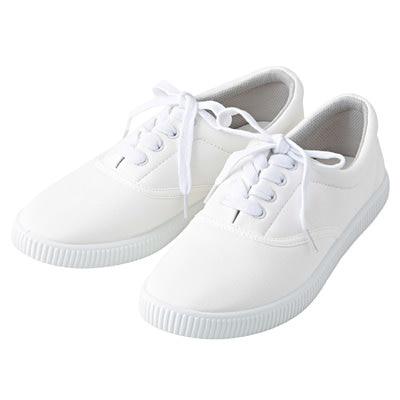 有機棉休閒鞋柔白M‧23.5~24.0cm