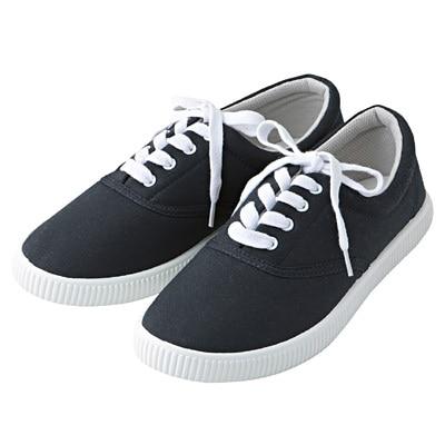 有機棉休閒鞋暗藍M‧23.5~24.0cm