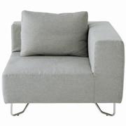 Unit Sofa Corner Light Grey