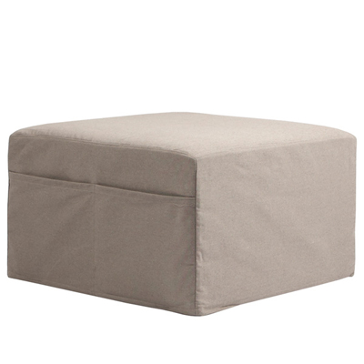 pouf hocker mit g stematratze sand bio muji online store. Black Bedroom Furniture Sets. Home Design Ideas