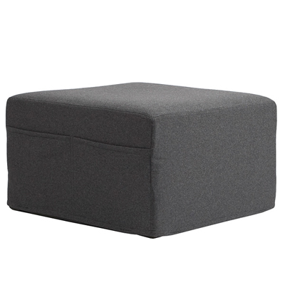 pouf hocker mit g stematratze filz muji online store. Black Bedroom Furniture Sets. Home Design Ideas