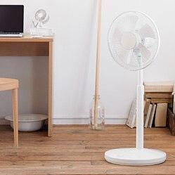 扇風機・リモコン付(低騒音ファン) ハイポジション・R30M‐HR‐W