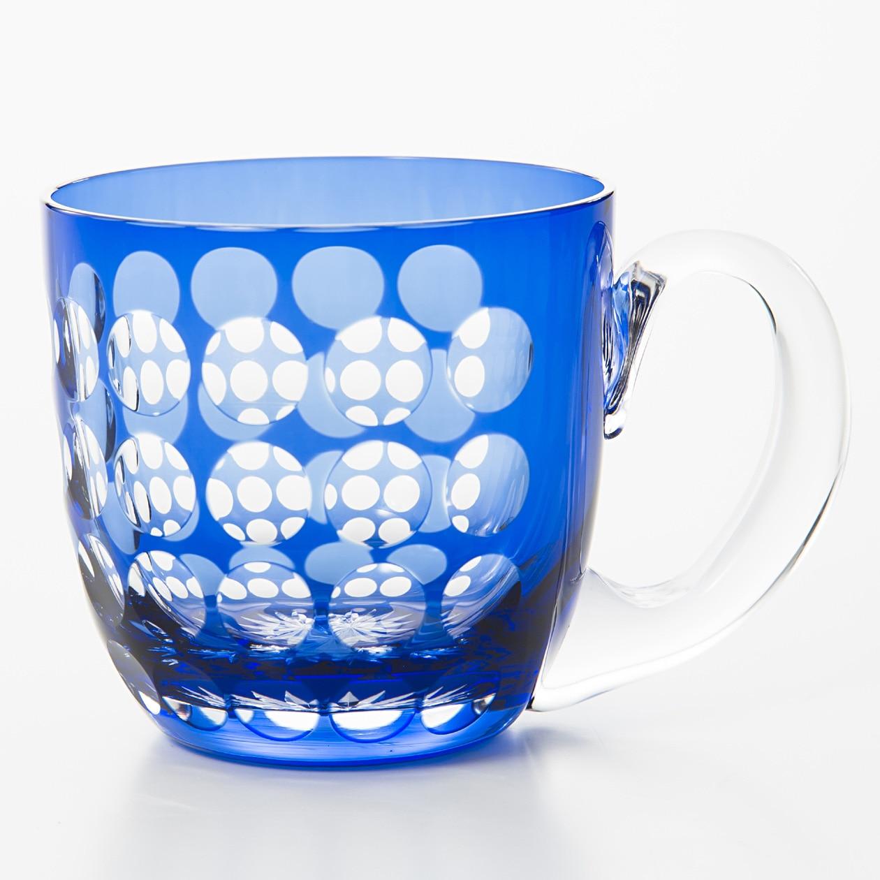 江戸切子の硝子カップ