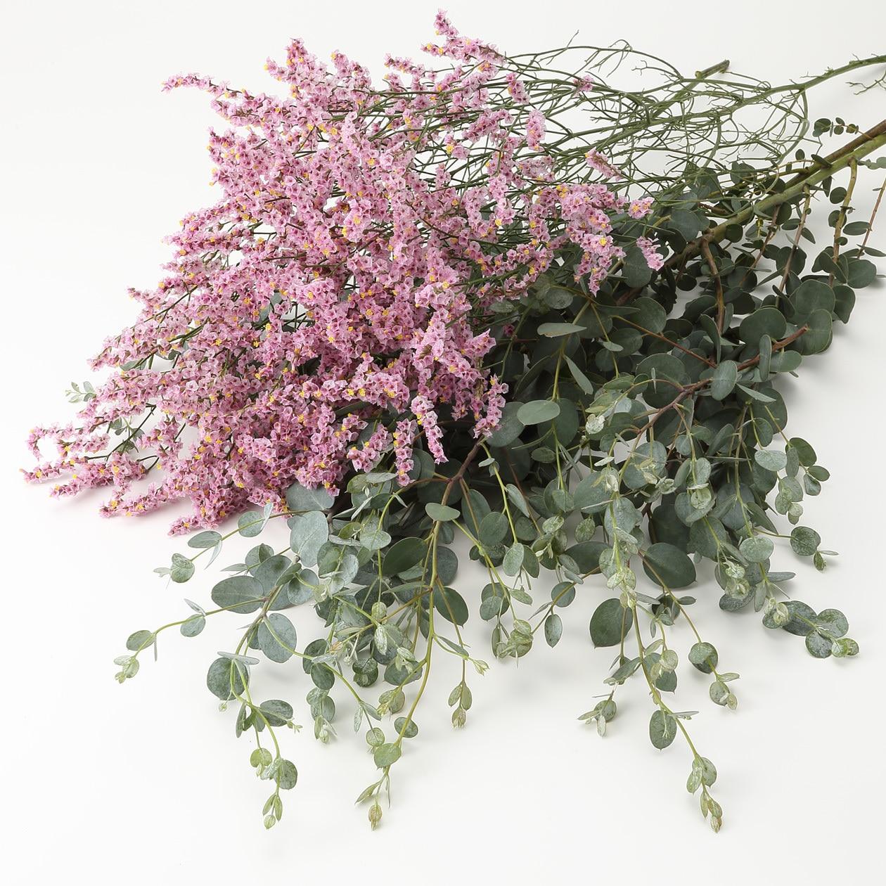 【ネット限定】ドライでも楽しめる枝と花 ユーカリと花