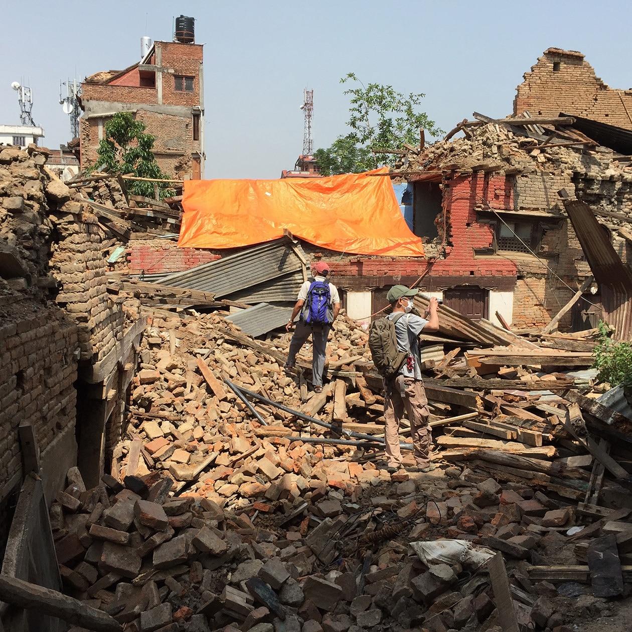緊急災害復興支援