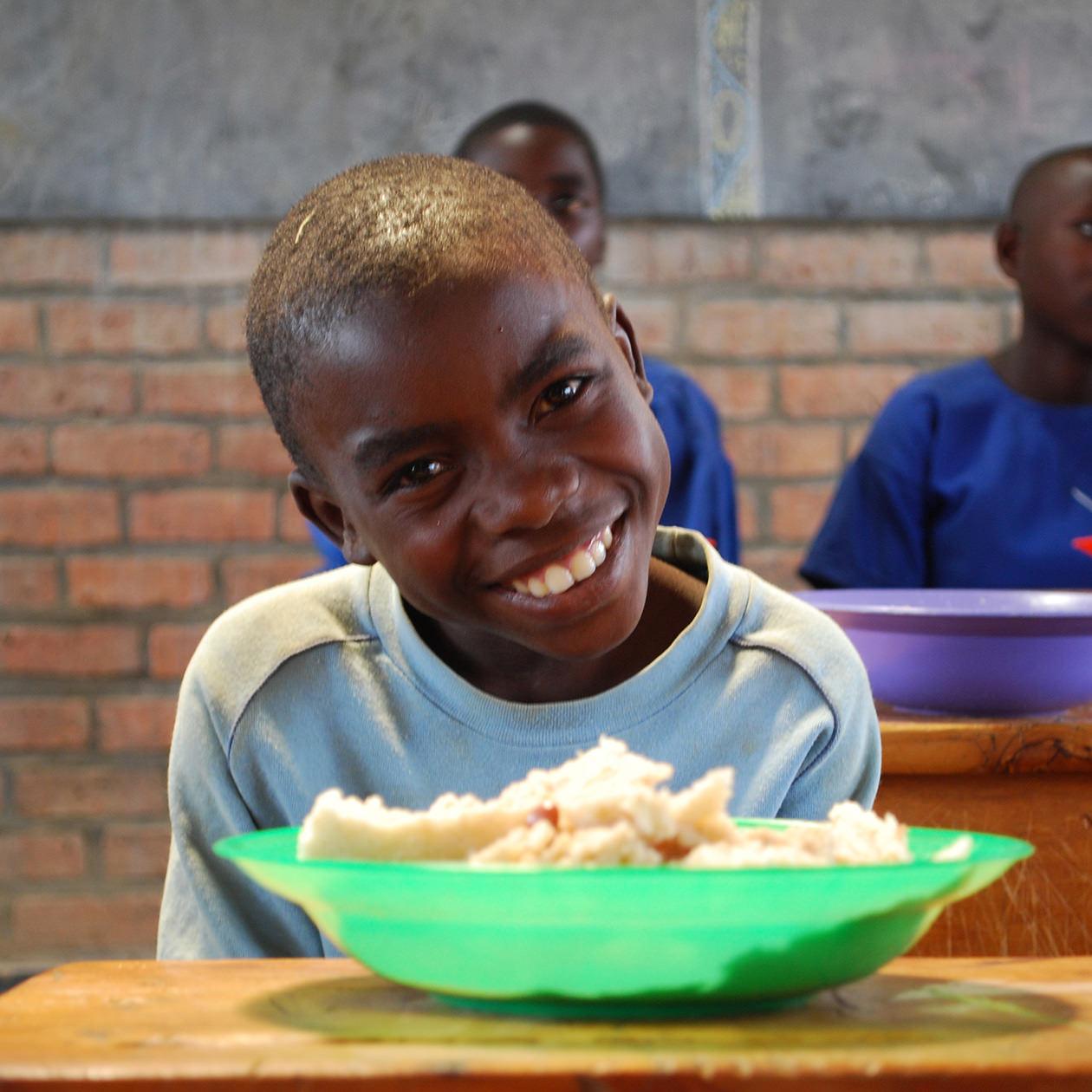開発途上国の給食支援