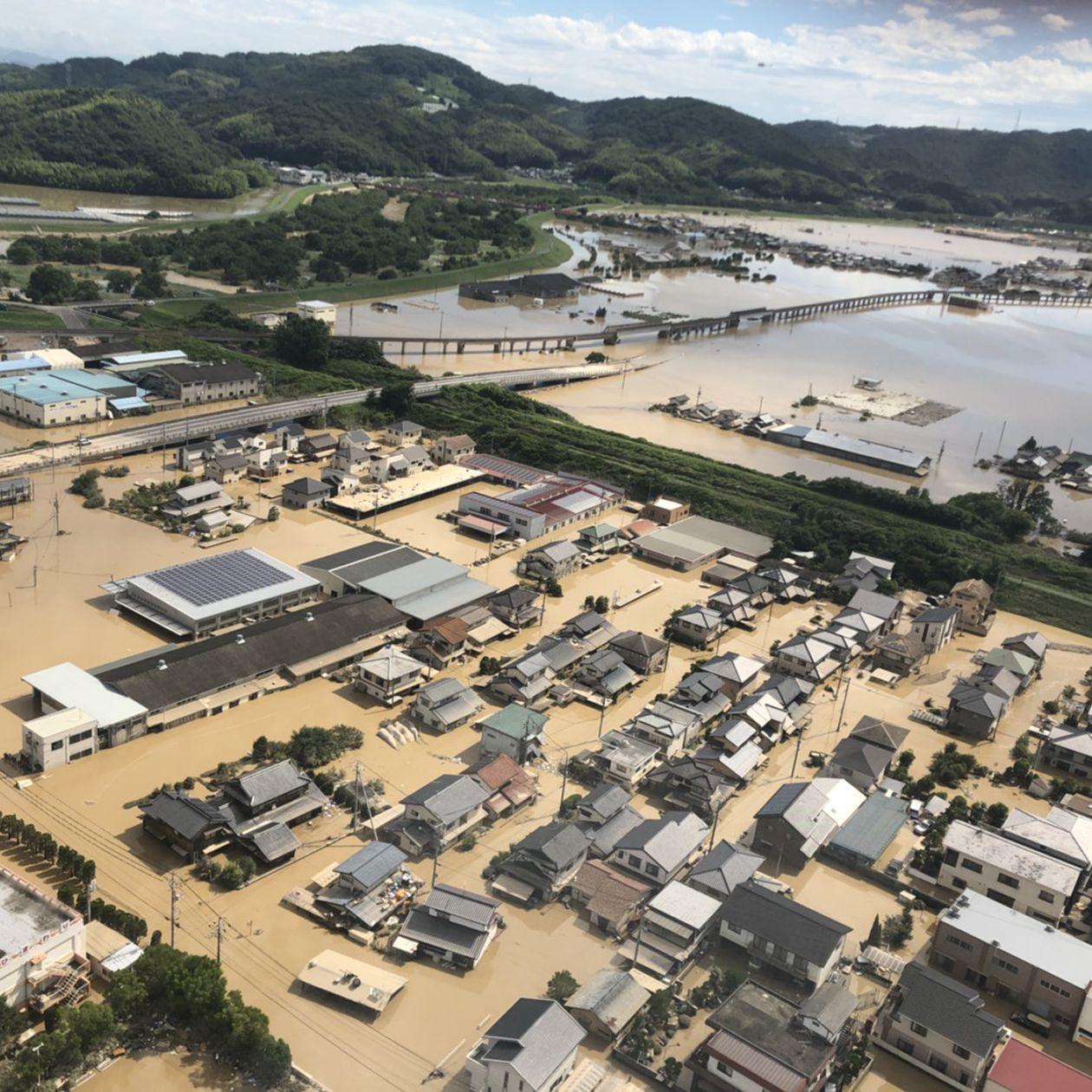 西日本豪雨被災者支援