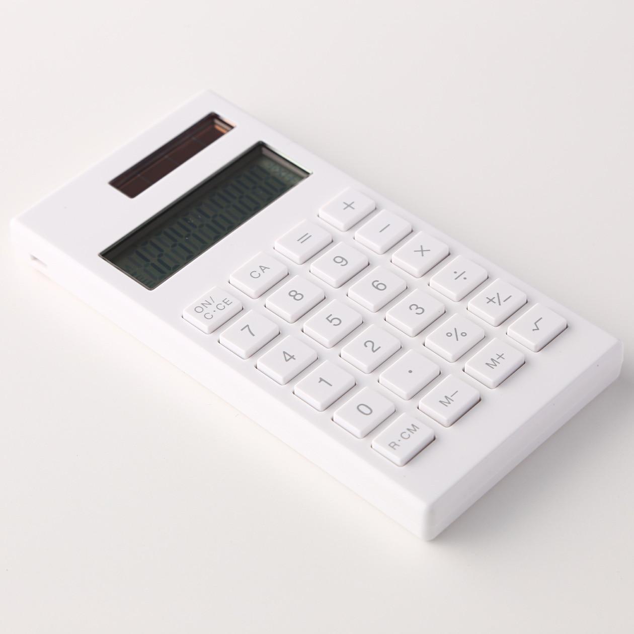 ce44785c3e 電卓 10桁・白(BO‐198) コンビニ受取可. 電卓