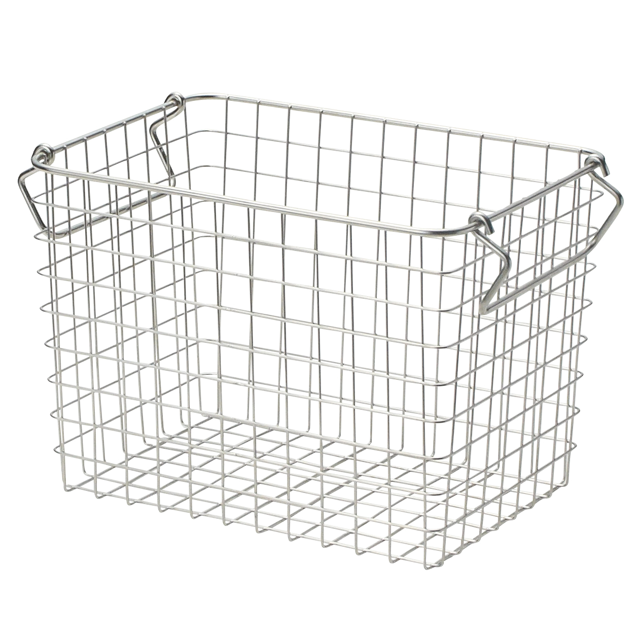 Stainless Steel Wire Basket with Handle