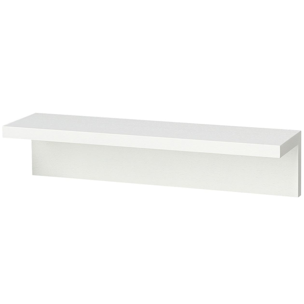 壁に付けられる家具・棚・幅44cm・タモ材/ライトグレー