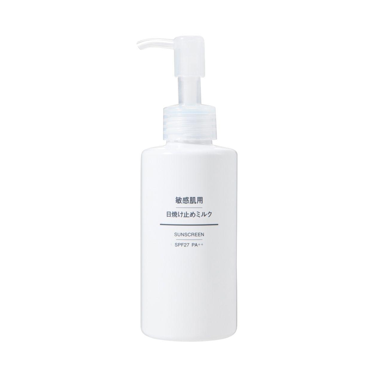 敏感肌用日焼け止めミルク SPF27