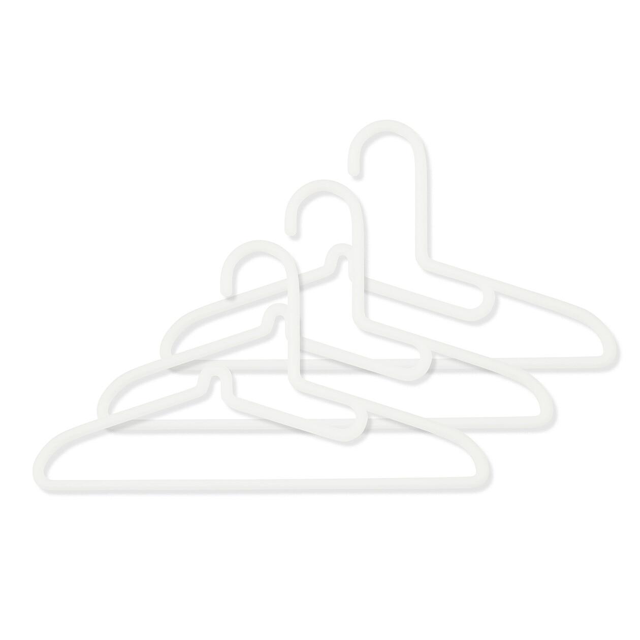 ポリプロピレン洗濯用ハンガー・シャツ用・3本組