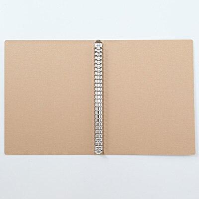 (業務用50セット) プラス フラットファイル 紙バインダー 2穴 062NW 統一伝票