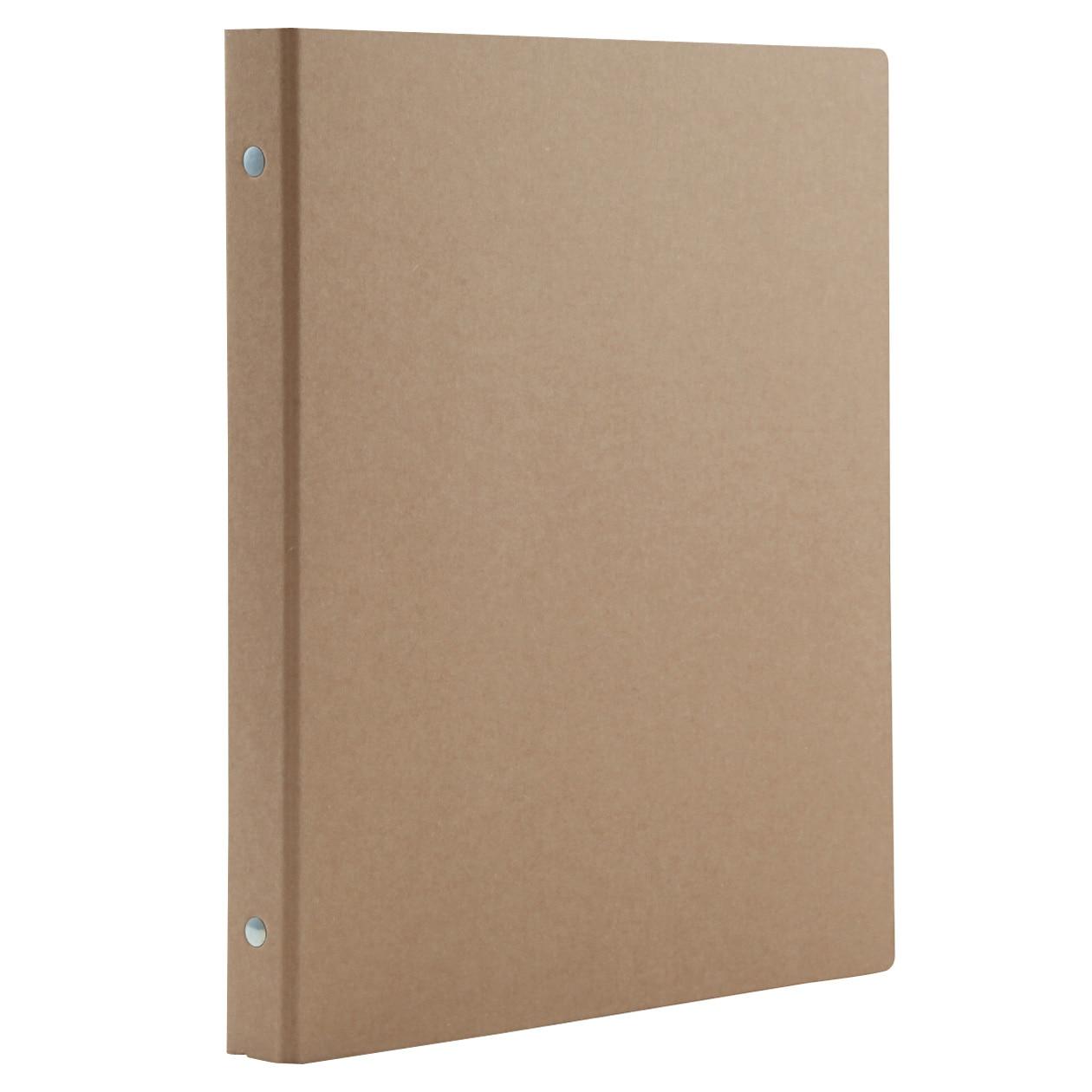 再生紙バインダーB5・26穴・ベージュ 通販