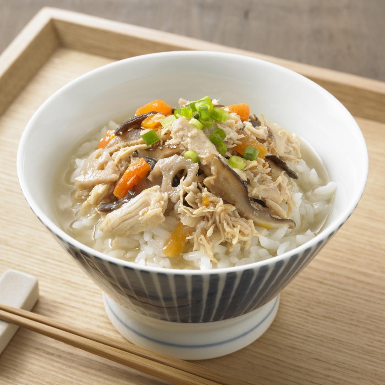 ごはんにかける 奄美大島風 鶏飯