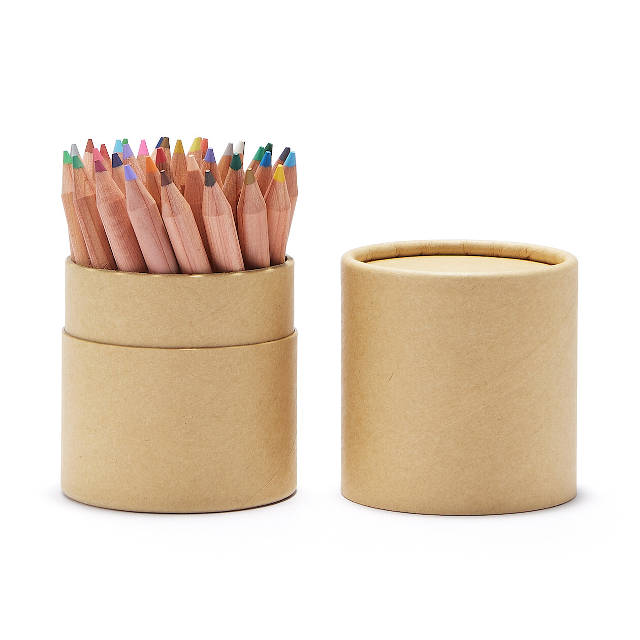色鉛筆紙管入り・ハーフサイズ