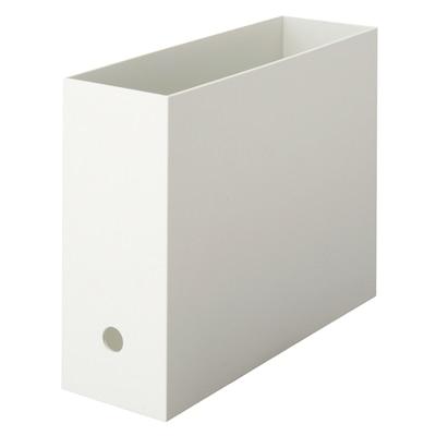 RoomClip商品情報 - ポリプロピレンファイルボックス・スタンダードタイプ・A4用・ホワイトグレー