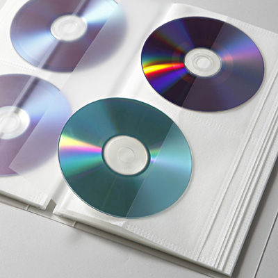 Black Blue Plastic 80 Disc CD Holder Storage Bag CD DVD Holder Storage  Cover Case Organizer Wallet Bag Album Bag-in CD/DVD Player Bags from  Consumer ...