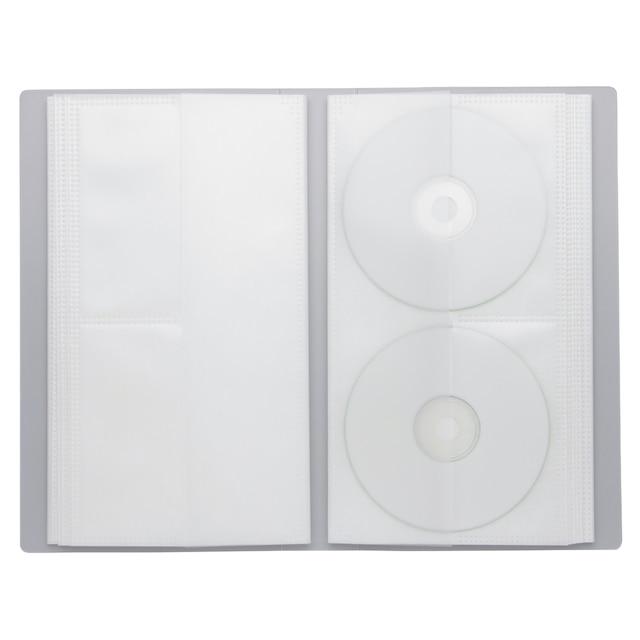 ポリプロピレンCD・DVDホルダー・2段