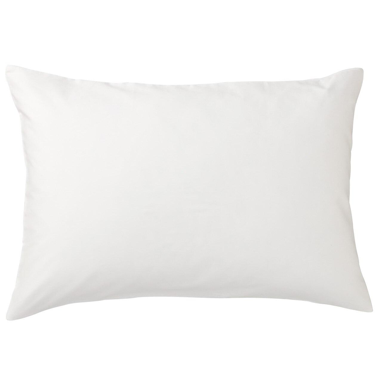 インド綿高密度サテン織ホテル仕様まくらカバー/オフ白 43×63cm用/オフ白