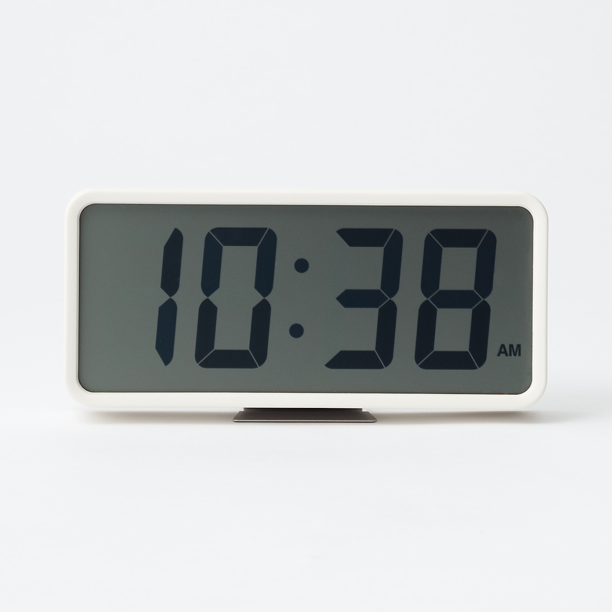 RoomClip商品情報 - デジタル時計・大 ホワイト