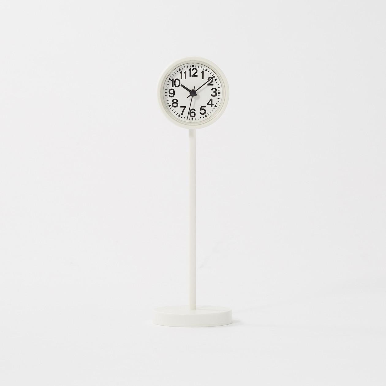公園の時計・ミニ ホワイト