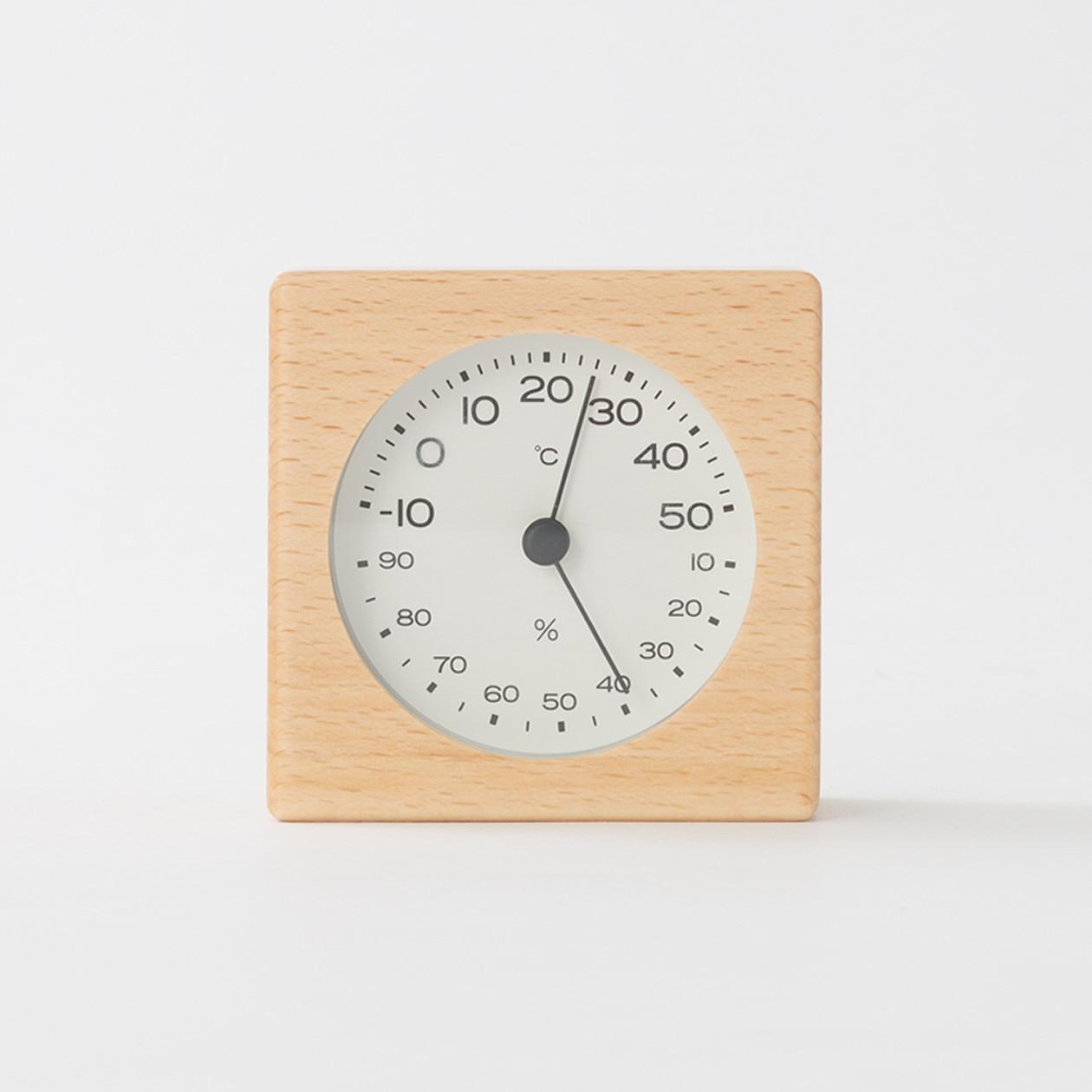 RoomClip商品情報 - ブナ材温湿度計