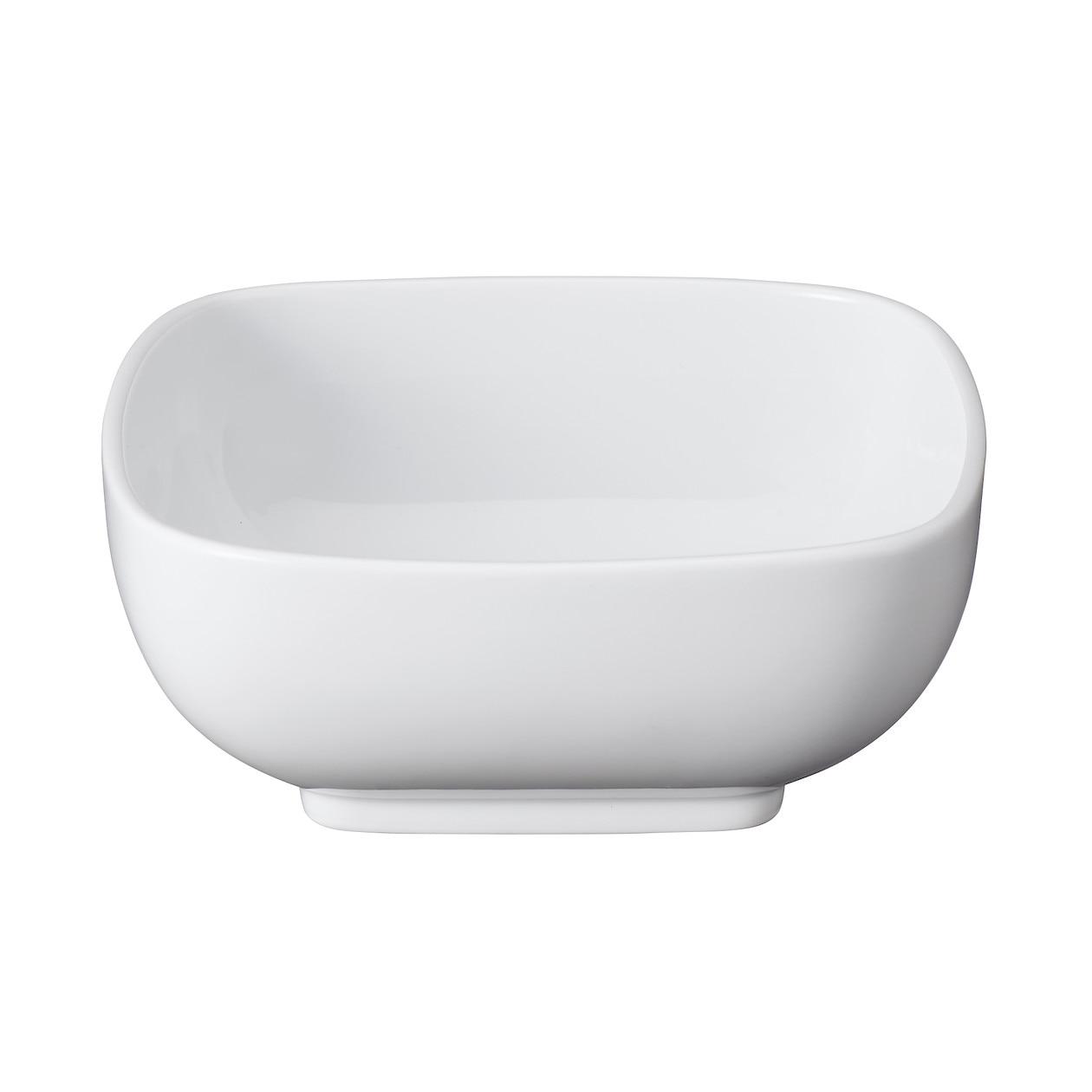 白磁角鉢・大