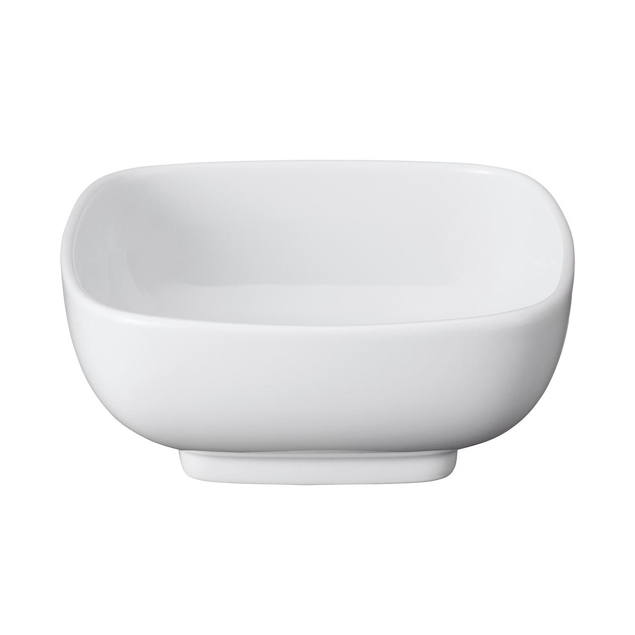 白磁角鉢・中