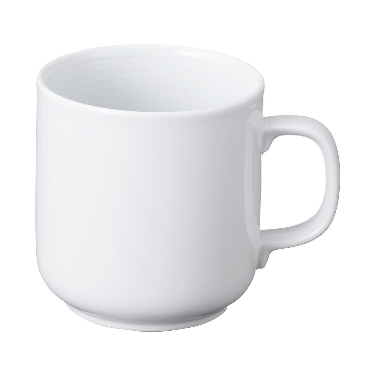 白磁マグカップ