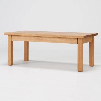 無印良品 | 無垢材ローテーブル・オーク材・90×45cm幅90×奥行45×高さ35cm 通販