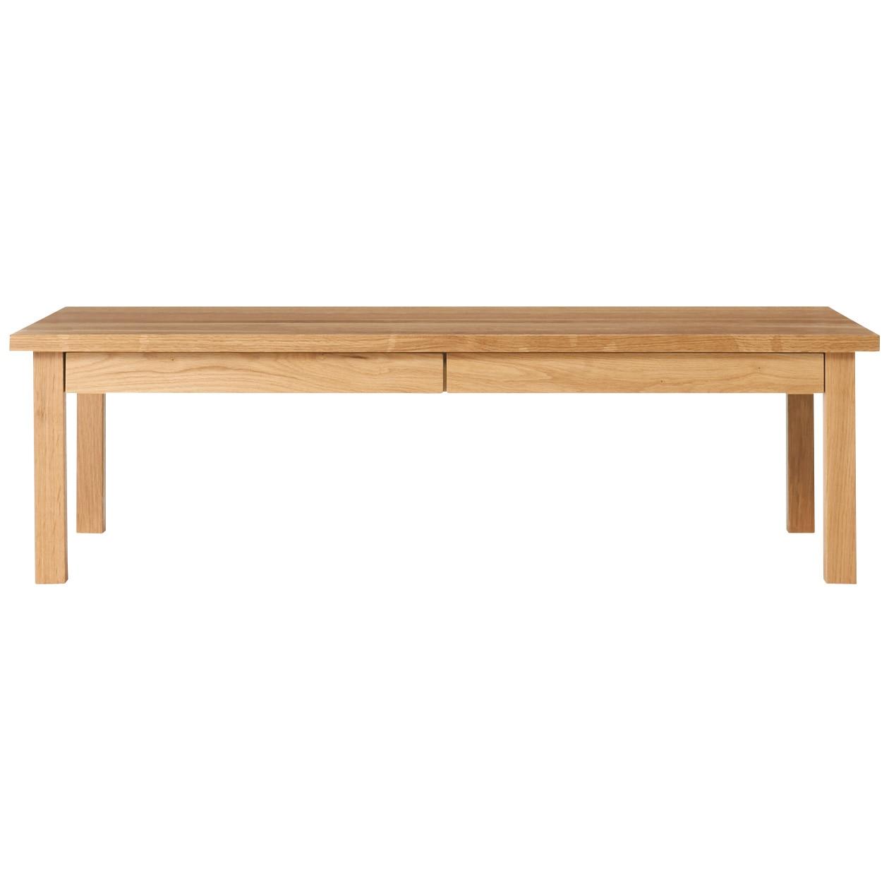 無垢材ローテーブル・オーク材・120×60cm
