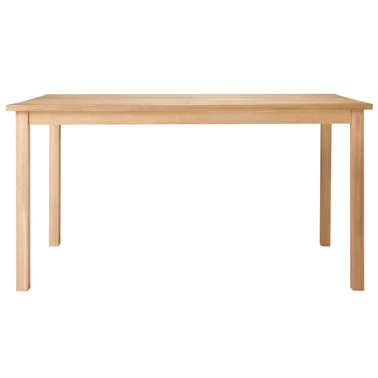 無垢材テーブル・オーク材・幅140cm