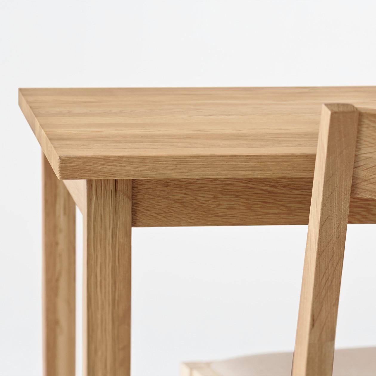 Oak wood table household