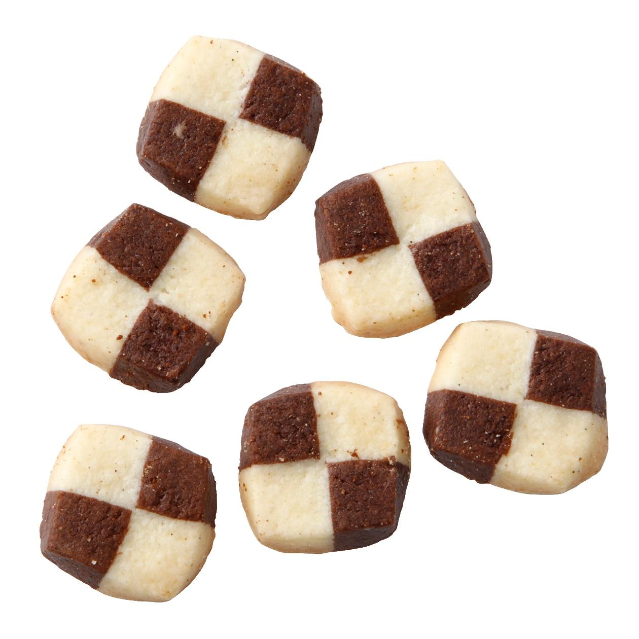 ココアとバニラのクッキー