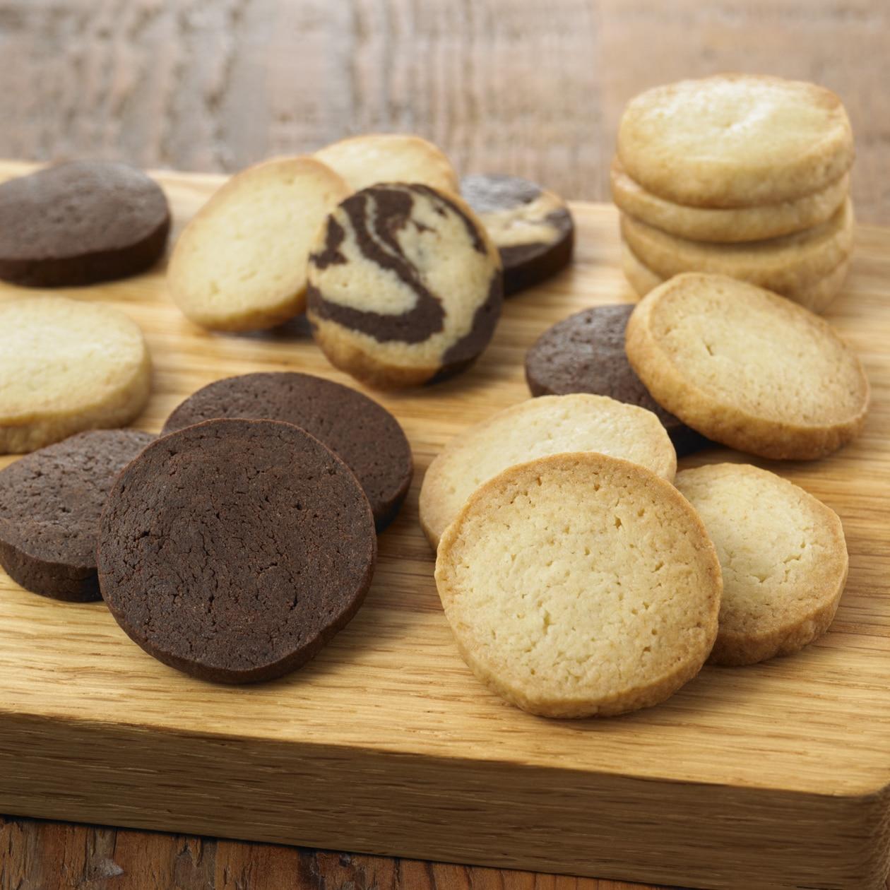 自分でつくる 2色のクッキー