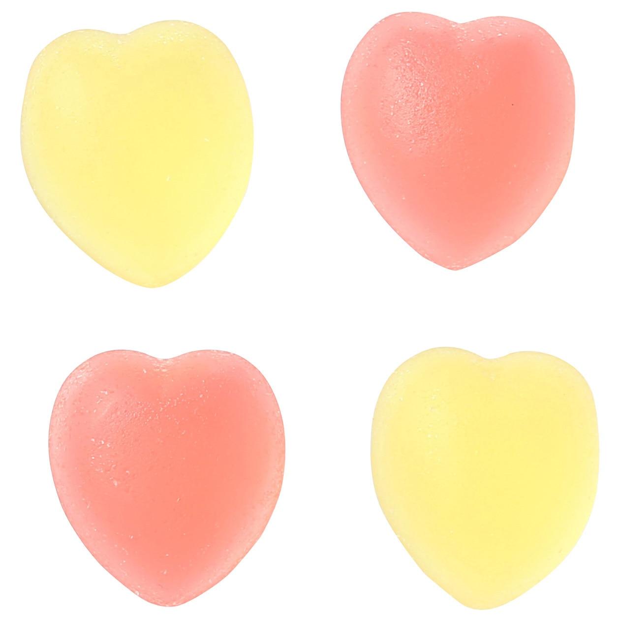 ハートのグミ いちご&レモン