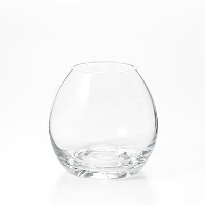 ガラスフラワーベース 凸型ボトム