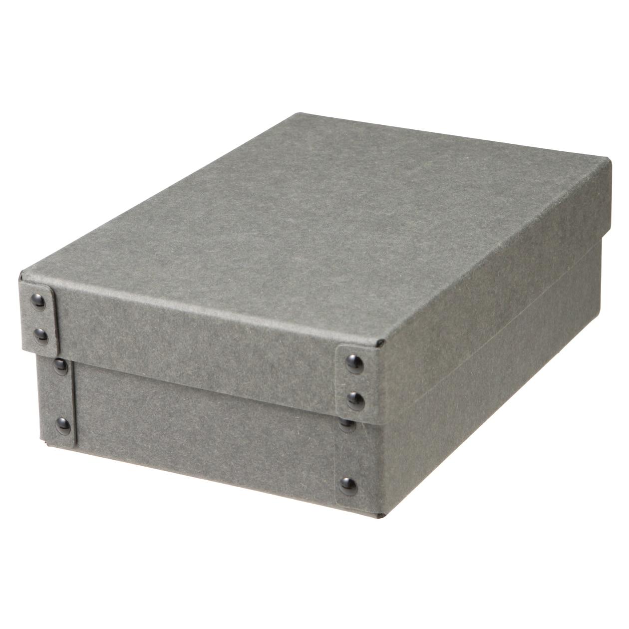 硬質パルプボックス・フタ式・浅型ハーフ